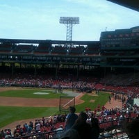 Photo taken at Left Field Grandstand by Richard B. on 5/27/2012