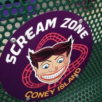 Photo taken at Scream Zone by Dennis V. on 7/23/2012