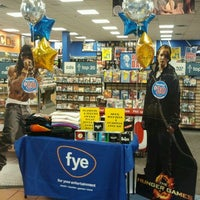 Photo taken at FYE by Trisha S. on 2/18/2012