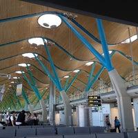 Photo taken at Adolfo Suárez Madrid-Barajas Airport (MAD) by Elsa on 8/26/2012