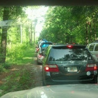 Photo taken at Ichetucknee Springs State Park - North Gate by KT T. on 7/21/2012