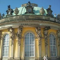 Photo taken at Schloss Sanssouci by Janine S. on 5/2/2012