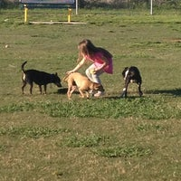 Photo taken at Fort Woof Dog Park by Stephanie S. on 3/23/2012