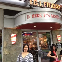 Photo taken at TGI Fridays by Ethelrida on 8/29/2012