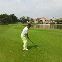 Photo taken at Thana City Golf & Sports Club by Shigeo T. on 2/5/2012