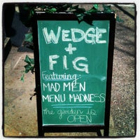 Photo taken at Wedge and Fig by Concierge on 3/23/2012