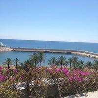 Photo taken at Rixos 1548 by Valeria K. on 6/1/2012