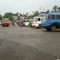 Photo taken at Private Bus Stand by Vimal V. on 5/20/2012