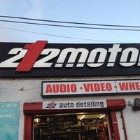 ... Photo taken at 212 Motoring by Eddie M. on 2/15/2012 ...