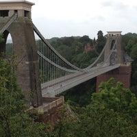 Photo taken at Clifton Suspension Bridge by Kash B. on 6/15/2012