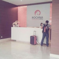 Photo taken at Rocana Hotel by Vecca B. on 9/8/2012