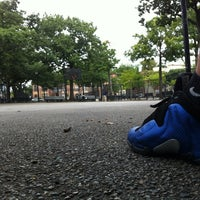 Photo taken at Hoyt Playground by Giovanni L. on 8/19/2012