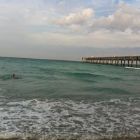 Photo taken at Dania Beach Pier by Penny B. on 3/31/2012