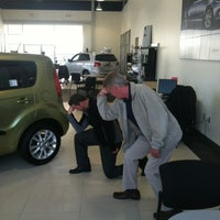 Photo taken at JT's Kia Of Columbia by Justin H. on 1/27/2012