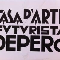 Photo taken at Casa d'Arte Futurista Fortunato Depero by Lilia L. on 5/20/2012
