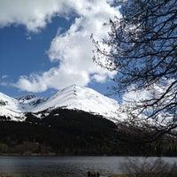 Photo taken at Summit Lake Lodge by Gary M. on 6/4/2012