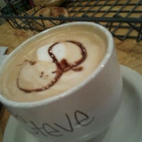 Photo taken at Heine Brothers Coffee by Steve G. on 11/8/2011