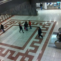 Photo taken at Syntagma Metro Station by Κωνσταντινα on 2/21/2012