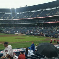 Photo taken at Braves Clubhouse by Joey V. on 6/10/2012