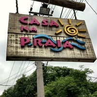 Photo taken at Casa na Praia by Camilla A. on 11/19/2011