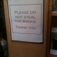 Photo taken at Unnameable Books by leslie b. on 11/6/2011