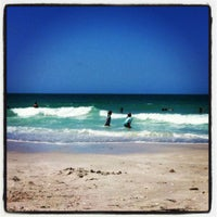 Photo taken at Lido Beach by Melissa T. on 4/5/2012