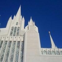 Photo taken at San Diego California Temple by Joy K. on 12/3/2011
