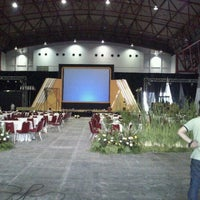Photo taken at Hall B-2 JIEXPO Kemayoran by Siva S. on 12/8/2011