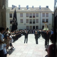 Photo taken at Iglesia de Santa María del Conceyu by Ferran R. on 8/15/2012