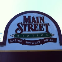 Photo taken at Main Street Station Casino, Brewery & Hotel by Justin J. on 4/22/2012