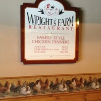 Photo taken at Wright's Farm Restaurant by Chris L. on 8/5/2012