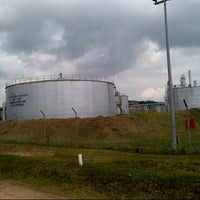 Photo taken at Connoco Philips Suban Gas Plant by Nisa M. on 7/9/2012