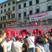 Photo taken at Piazza Mercatale by Lorenzo I. on 9/6/2011