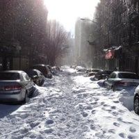 Photo taken at Snowpocalypse 2010 - NY by Fa1co T. on 11/29/2011