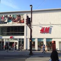 Photo taken at H&M by Manuel B. on 6/14/2012