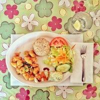 Photo taken at Vegan House by Tim M. on 2/2/2012