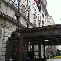 Photo taken at The St. Regis Washington, D.C. by Sari T. on 2/19/2012