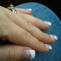 Photo taken at Faraona Nails 'n Happy Hair Beauty Salon by Vilma M. on 3/9/2012
