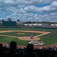 Photo taken at Carolina Stadium by Jay R. on 5/15/2011