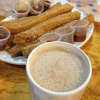 Photo taken at Los Churros De Valle by Berenice L. on 7/22/2012