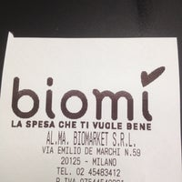 Photo taken at Biomì by Andrea R. on 7/19/2012