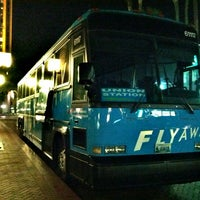 Photo taken at FlyAway - Union Station to LAX by Ee K. on 7/26/2012