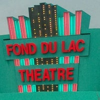 Photo taken at Fond du Lac Theatre by ∑rIπ §. on 11/13/2011
