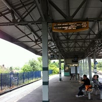 Photo taken at Epsom Railway Station (EPS) by Sarah E. on 9/6/2011