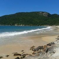 Photo taken at Costão da Praia do Santinho by Mariana S. on 3/5/2012