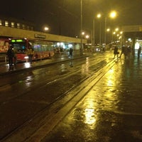 Photo taken at Smíchovské nádraží (tram, bus) by Anita B. on 1/24/2012