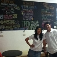 Photo prise au Dragonfly Hostels Lima Peru par Yann L. le12/17/2011