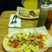 Photo taken at Taqueria el Chorrito by Emily H. on 10/22/2011