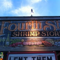 Photo taken at Fourth Street Shrimp Store by Sunje S. on 2/24/2012