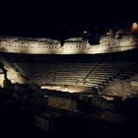 Photo taken at Teatro Romano by Riccardo C. on 8/9/2012